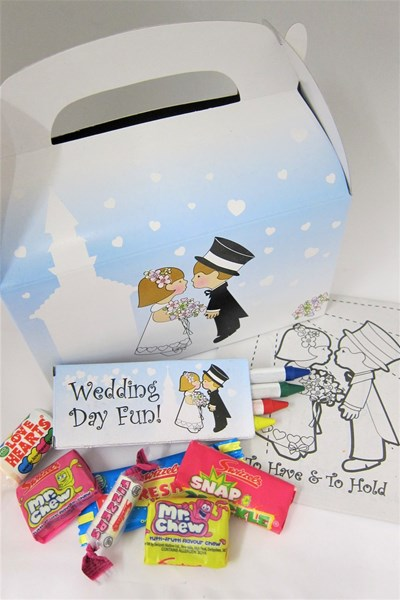 Picture of Children's Wedding Fun Box