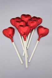 Picture of Chocolate Heart Lollipops