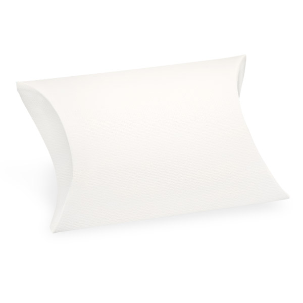 Picture of White Linen Favour Boxes