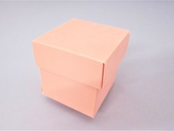 Picture of  Matt Pink Lari Favour Box