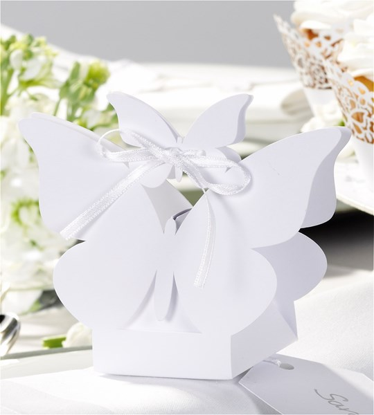Picture of Butterfly Favour Box