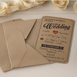 Picture of Vintage Affair Wedding Invitations