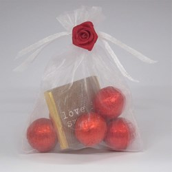 Picture of Love is Sweet Chocolate Favour Bag