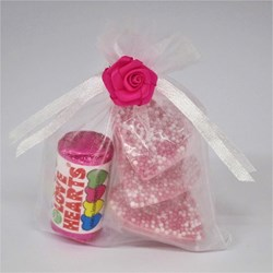 Picture of Love Hearts Sweet Favour Bag