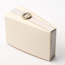 Picture of Antique Pelle White Cake Box