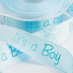 Picture of Its A Boy Satin Ribbon