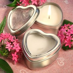 Picture of Light For Love Heart Candle