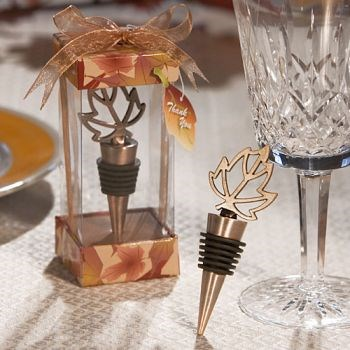 Picture of Autumn Leaf Bottle Stopper