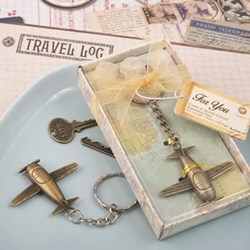 Picture of Vintage Airplane Key Chain