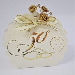 Picture of Golden Wedding 50th Anniversary Favour