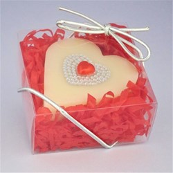 Picture of Pearl Heart Gift Soap