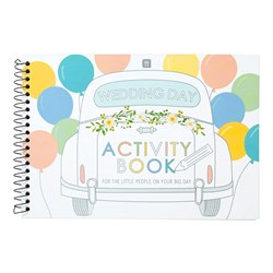 Picture of Children's Wedding Day Activity Book Set