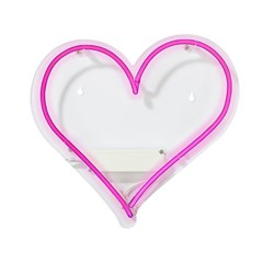 Picture of Love Heart Neon Light