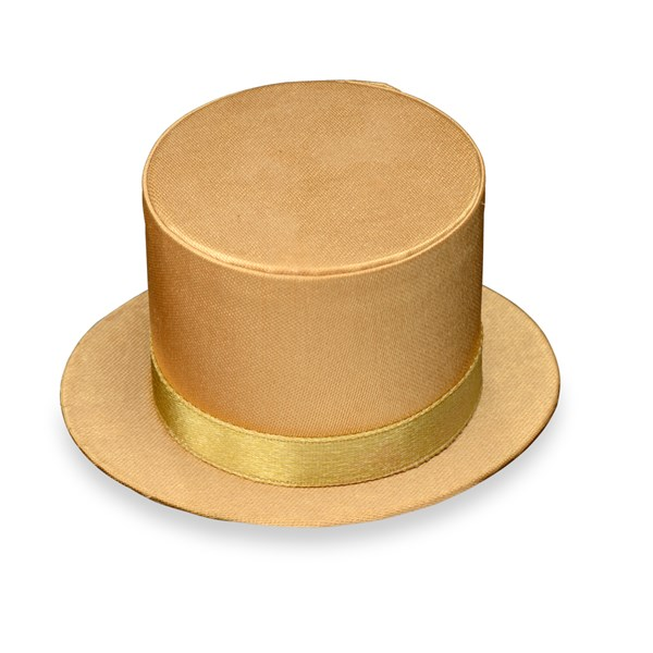 Picture of Top Hat in Gold