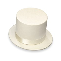 Picture of Top Hat in Ivory