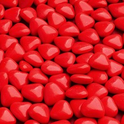 Picture of Kosher Mini Heart Chocolate Dragees