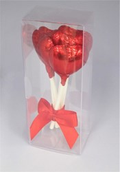 Picture of Chocolate Heart Lolly Gift Box