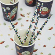 Picture of Space Adventure Paper Straws