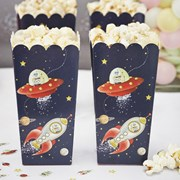 Picture of Space Adventure Popcorn Boxes