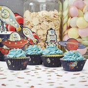 Picture of Space Adventure Cupcake Decorating Set