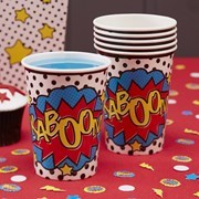 Picture of Pop Art Paper Cups