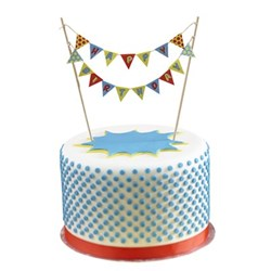 Picture of Pop Art Cake Top Bunting