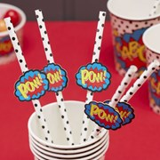 Picture of Pop Art Paper Straws