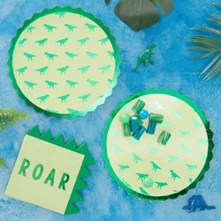 Picture of Dinosaur Paper Plates