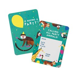 Picture of Animal Party Invitations