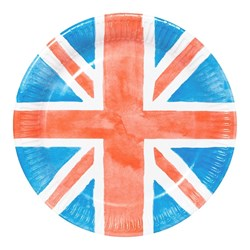 Picture of Union Jack Paper Plates