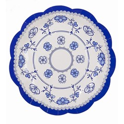 Picture of Party Porcelain Small Paper Plates