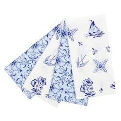 Picture of Party Porcelain Paper Napkins