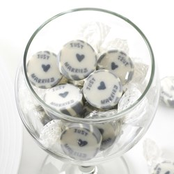 Picture of Rock Sweets - Just Married Silver