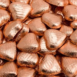 Picture of Single Chocolate Foil Hearts