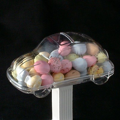 Acrylic Car Favour With Sweet Filling Uk Wedding Favours