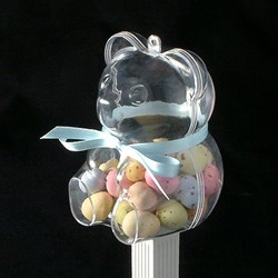 Picture of Acrylic Teddy Favour with Sweet Filling