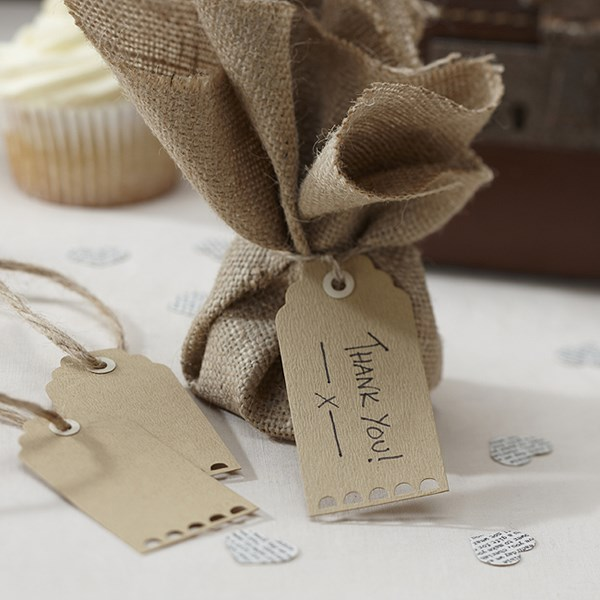 Picture of Brown Luggage Tags - Vintage Affair