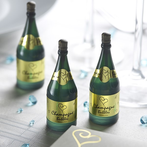Picture of Bubbles Line Heart Champagne