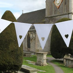Picture of Bunting in Hearts Design 1