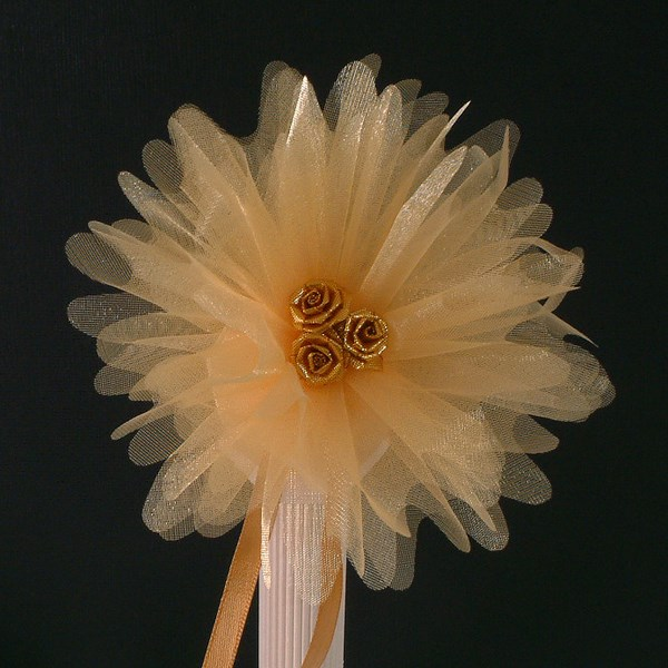 Picture of Crystal Tulle in Autumn Gold