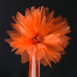 Picture of Crystal Tulle in Orange