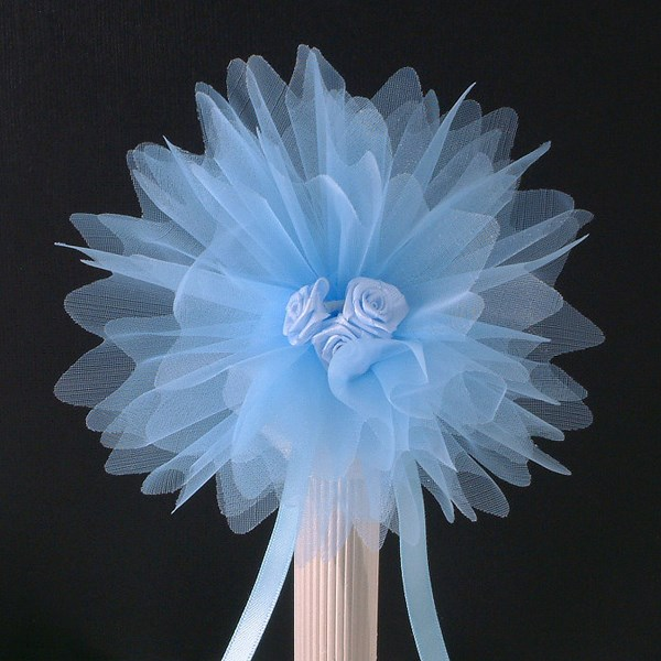 Picture of Crystal Tulle in Pale Blue