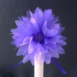 Picture of Crystal Tulle in Purple