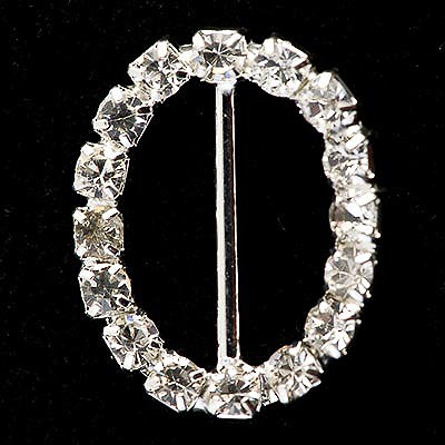 Picture of Diamante Buckle Medium Oval