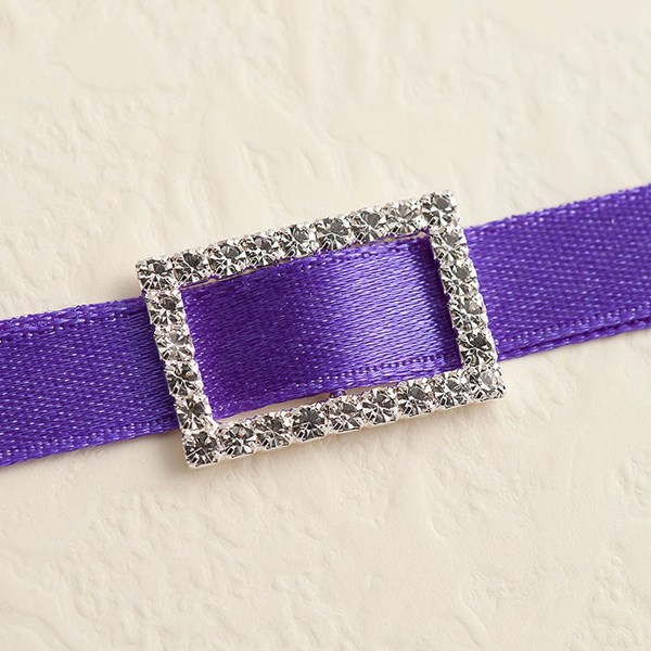 Picture of Diamante Buckle Medium Rectangular