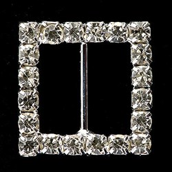 Picture of Diamante Buckle Medium Square