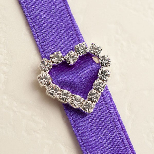 Picture of Diamante Buckle Small Horizontal Heart