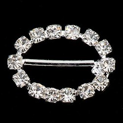 Picture of Diamante Buckle Small Oval