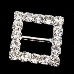 Picture of Diamante Buckle Small Square