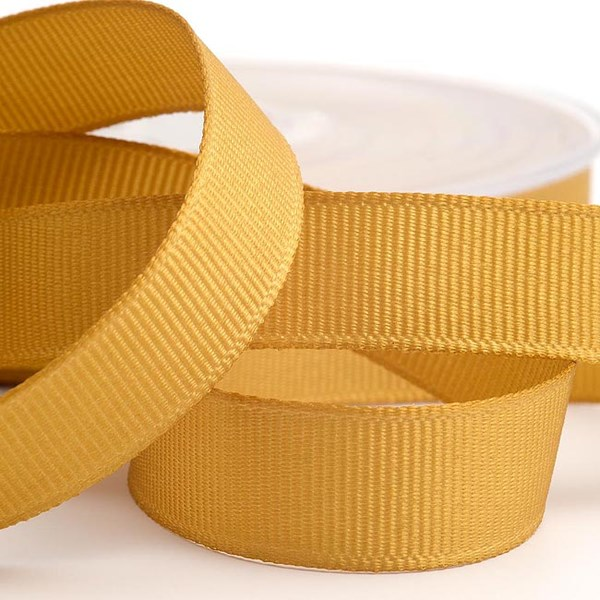 Picture of DIY Grosgrain Ribbon in Gold